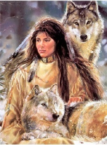 girl_with_2_wolves